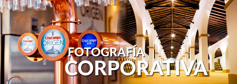 Banner de fotografía corporativa, editorial o para catálogos de empresa