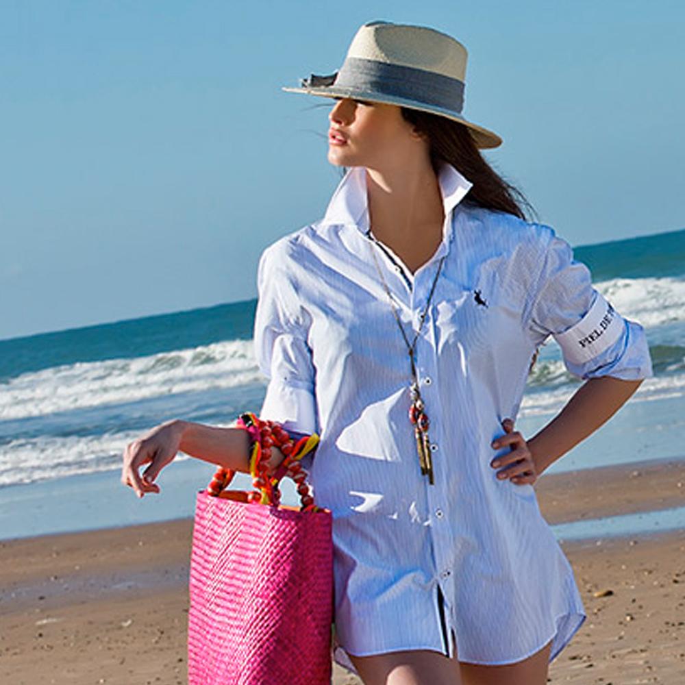 Fotofrafía para ecommerce de moda Piel de Toro campaña de verano
