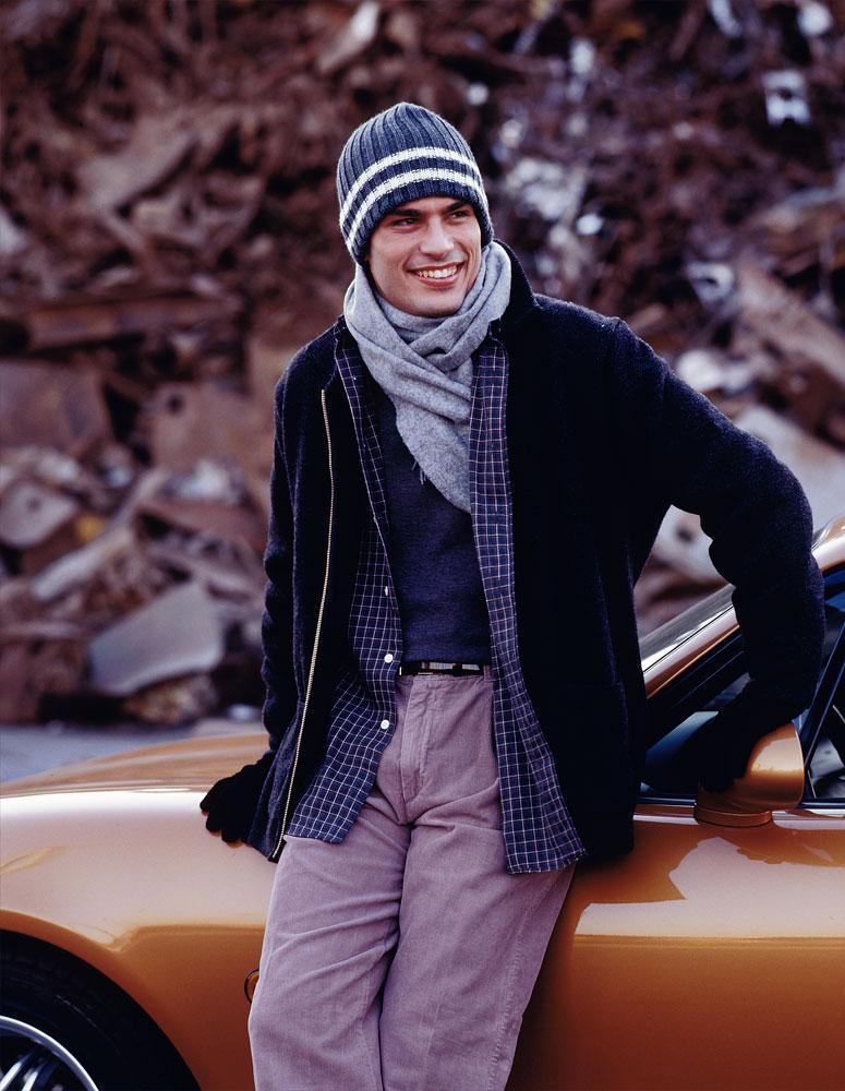 fotografía moda-chico-coche