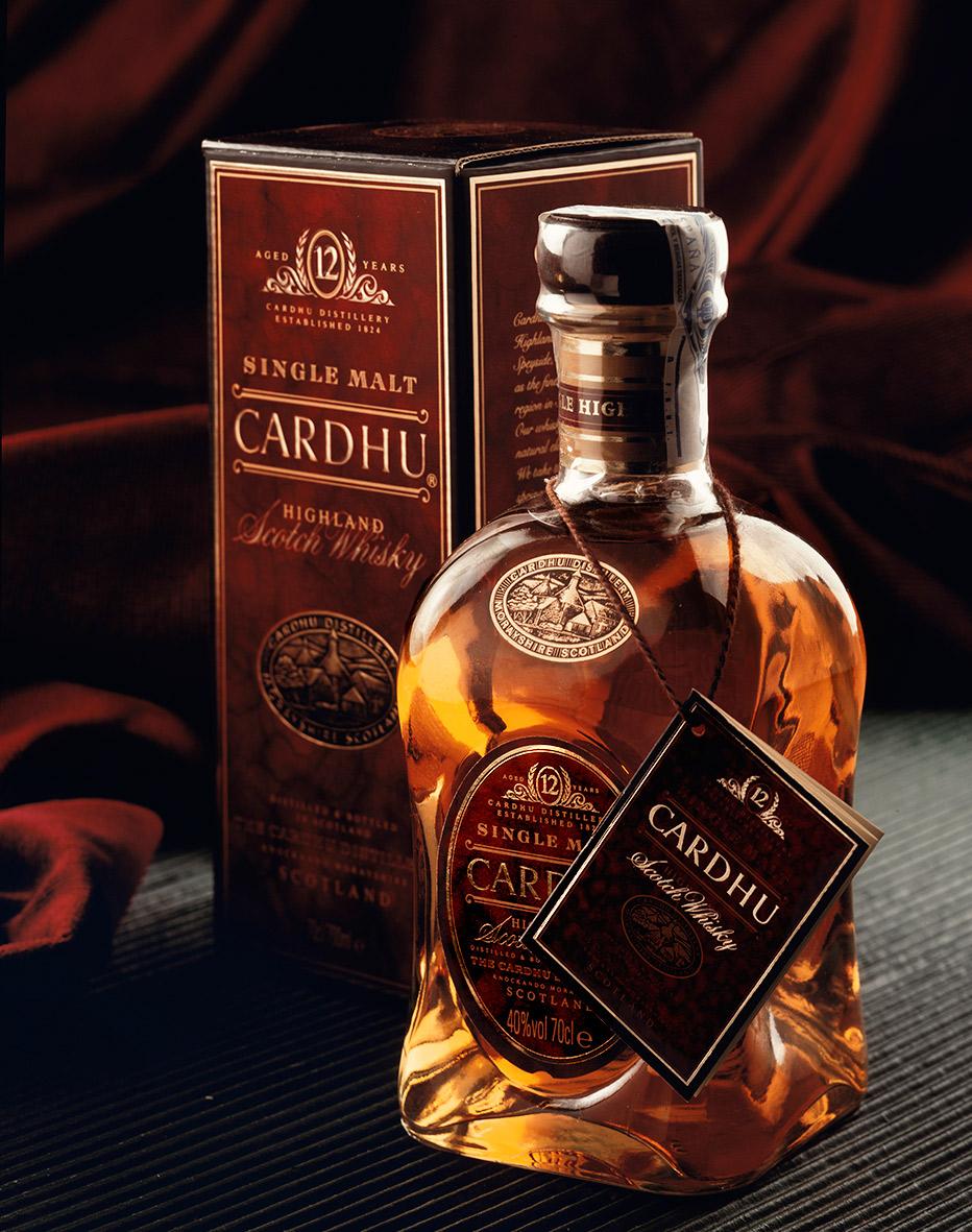 fotografía whisky-cardhu-bodegon